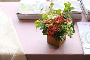 わんちゃんへのお供えのお花