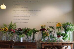お店の花材
